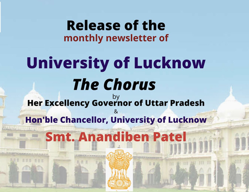 Release of The Chorus, University of Lucknow