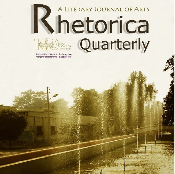Rhetorica Quarterly Issue I - A Literary Journal of Arts Published by the Department of English and Modern European Languages