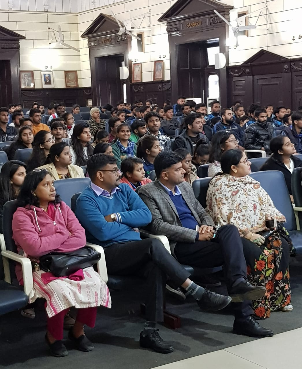 Interaction of VC with Students